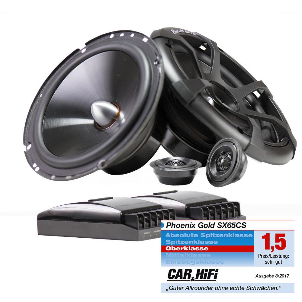16 5cm auto einbau lautsprecher stereo system max 250w. Black Bedroom Furniture Sets. Home Design Ideas