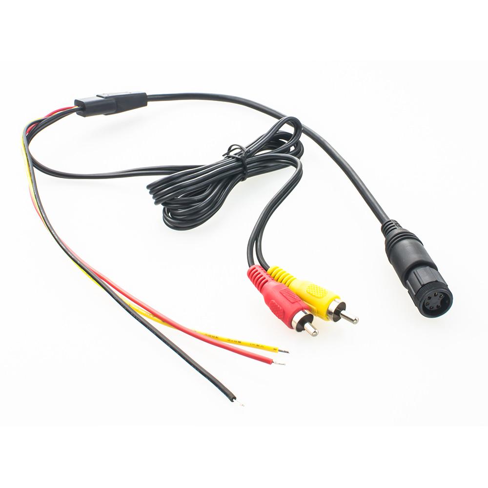 Pin Auf Wrapahouse: Waeco Rear View Camera Interface Cable 6-pin> Monitor Navi