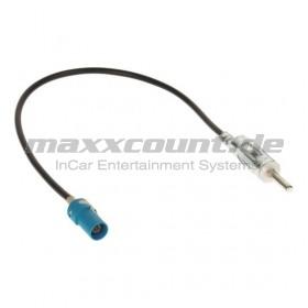 Antennenadapter-Kabel DIN-Stecker auf Fakra-Stecker (Z) Male für Audi / Mercedes / Seat / Skoda / VW / Chrysler