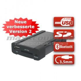 XCarLink 2 USB Music Interface für Skoda (8-Pin Mini-ISO)