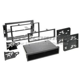 Metra 99-6510 Radiohalterung 1DIN/2DIN Einbau-Kit für Chrysler 300C, Dodge Caliber, Grand Cherokee, Jeep