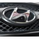 Hochwertige Front-Kamera für Hyundai perfekt & unauffällig ins Front-Emblem integriert