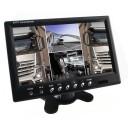 Stand alone Monitor 9 Zoll (22,9cm) Quadscreen mit 4 schaltbaren Videoeingängen