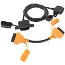 AMPIRE OBD-C100 Sicherheitssystem mit codiertem OBD-Adapterkabel, 1m